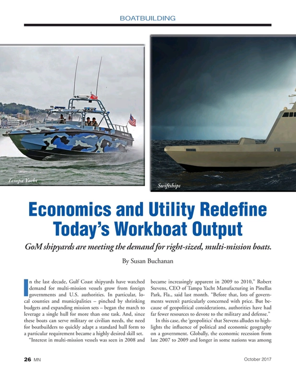 Marine News Magazine, page 26,  Oct 2017