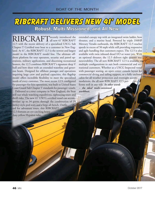 Marine News Magazine, page 46,  Oct 2017