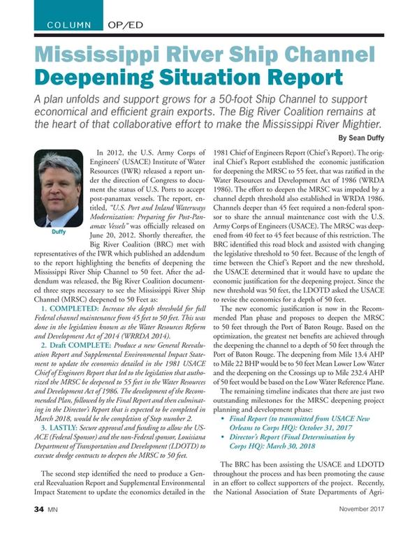 Marine News Magazine, page 34,  Nov 2017