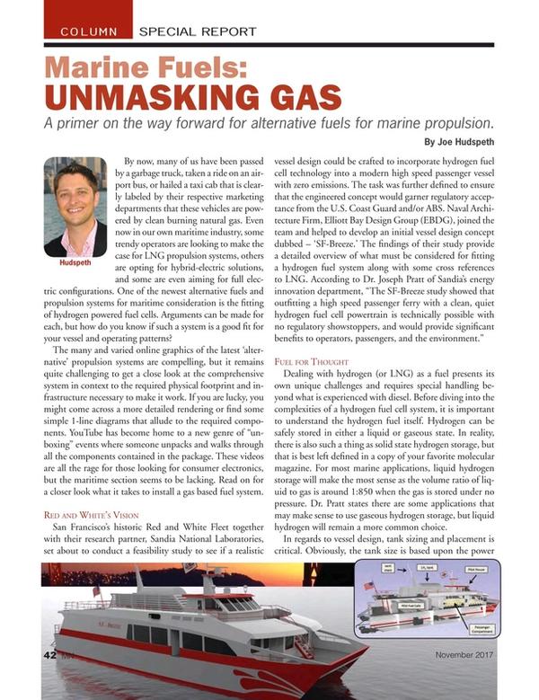 Marine News Magazine, page 42,  Nov 2017