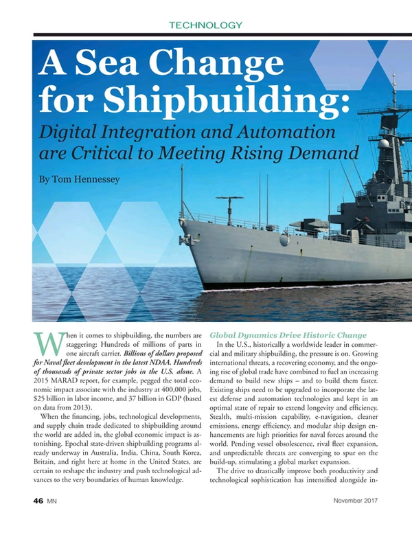Marine News Magazine, page 46,  Nov 2017