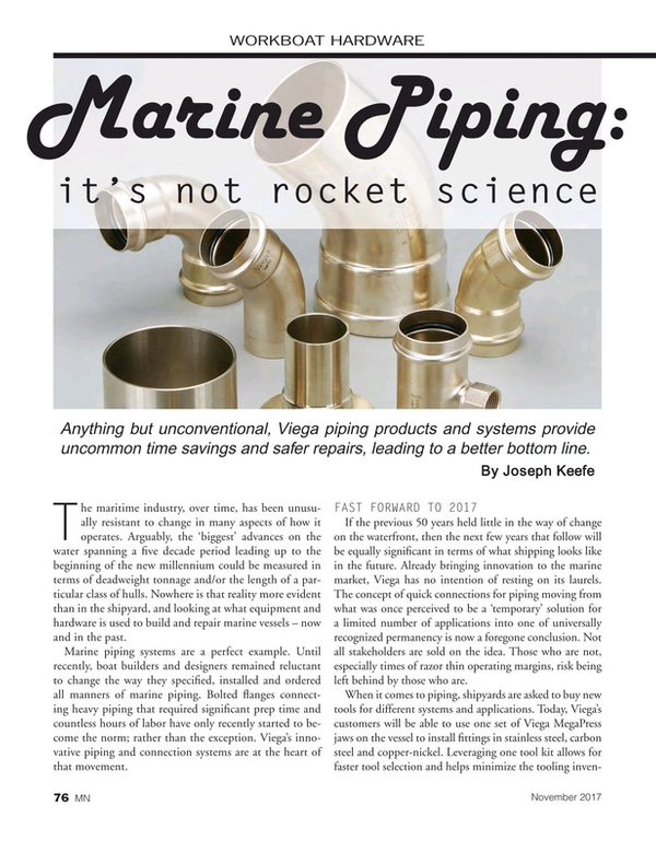 Marine News Magazine, page 76,  Nov 2017