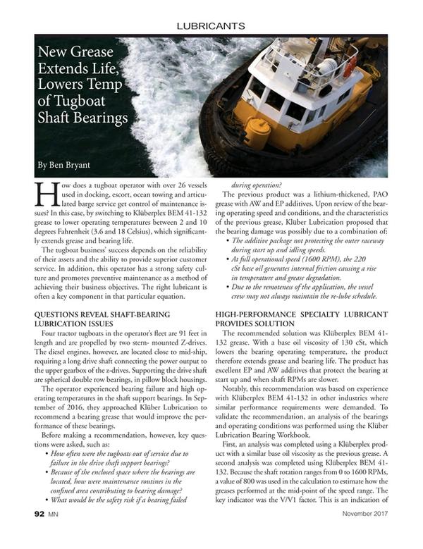 Marine News Magazine, page 92,  Nov 2017