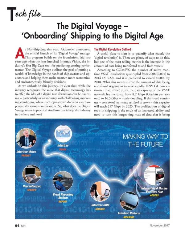 Marine News Magazine, page 94,  Nov 2017