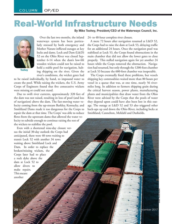 Marine News Magazine, page 20,  Dec 2017