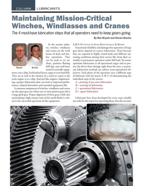 Marine News Magazine, page 25,  Feb 2018