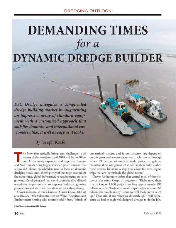 Marine News Magazine, page 30,  Feb 2018