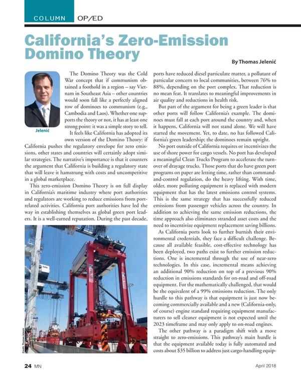 Marine News Magazine, page 24,  Apr 2018