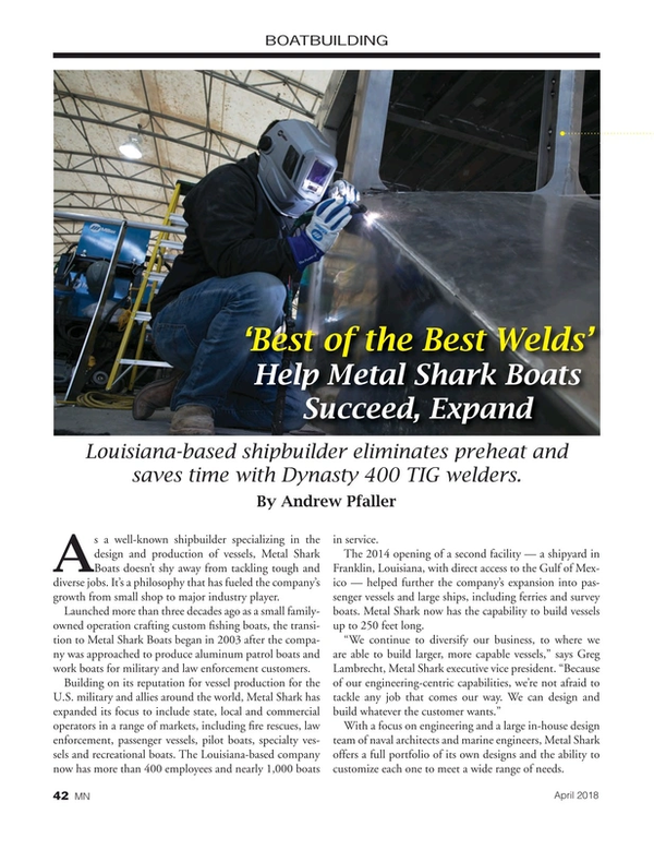 Marine News Magazine, page 42,  Apr 2018
