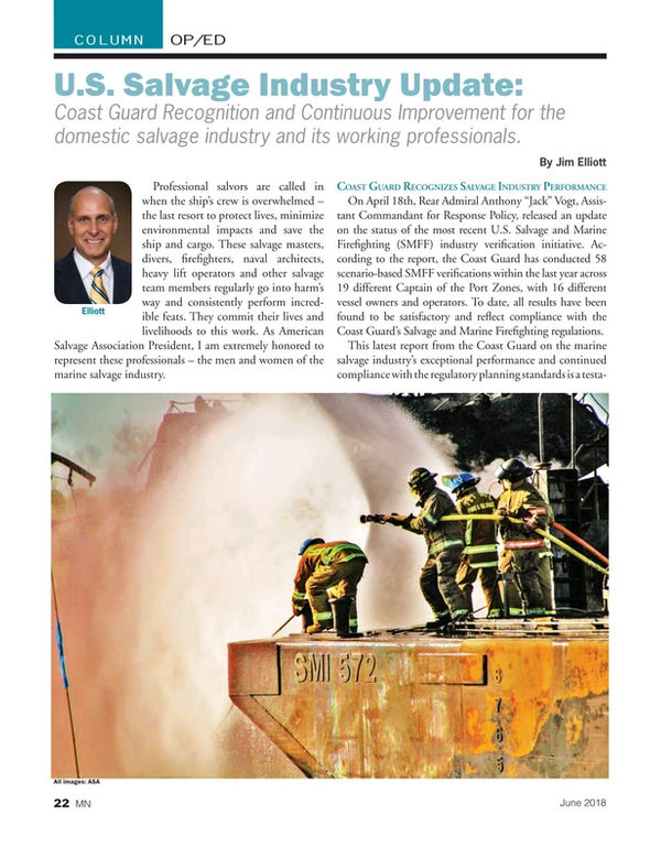 Marine News Magazine, page 22,  Jun 2018