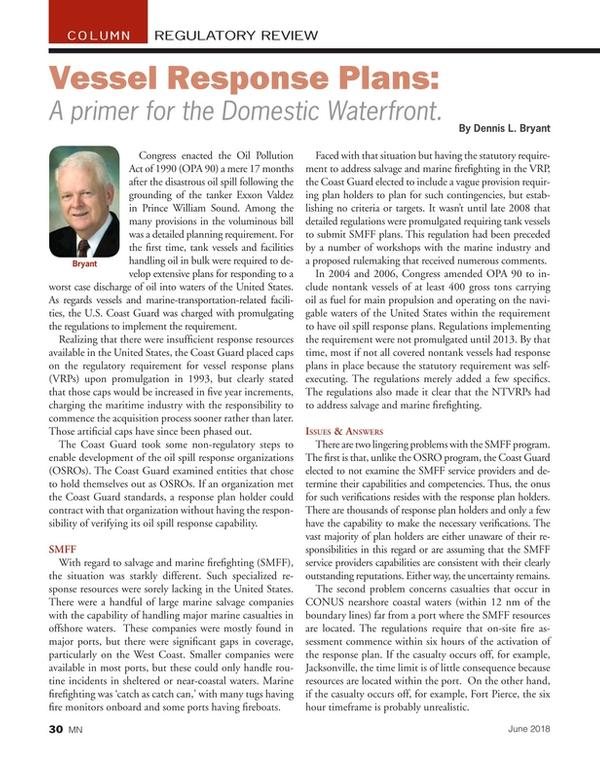 Marine News Magazine, page 30,  Jun 2018
