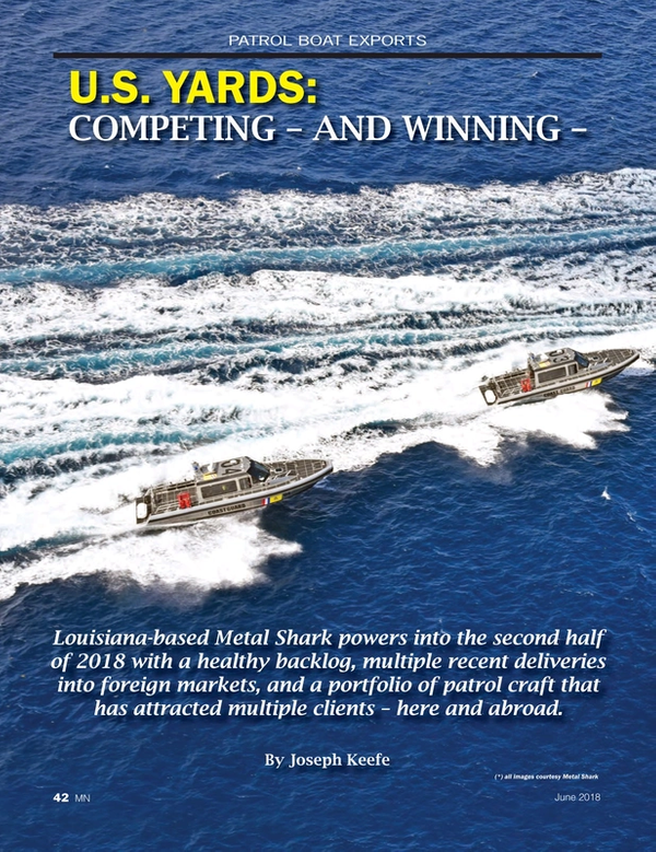 Marine News Magazine, page 42,  Jun 2018