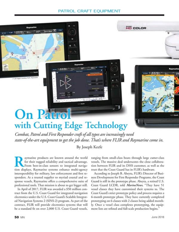 Marine News Magazine, page 50,  Jun 2018