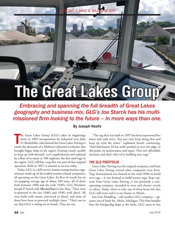 Marine News Magazine, page 34,  Jul 2018