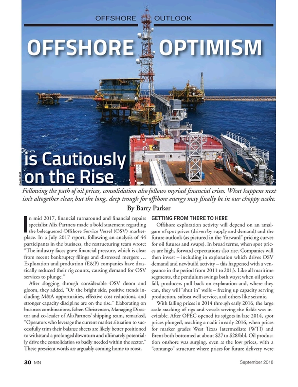 Marine News Magazine, page 30,  Sep 2018