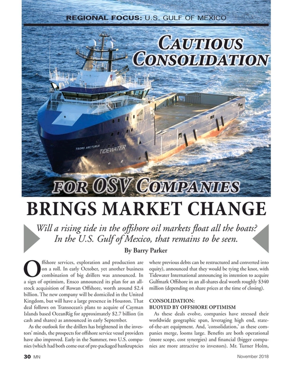 Marine News Magazine, page 30,  Nov 2018