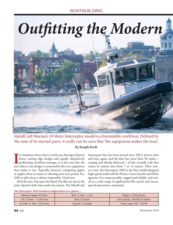 Marine News Magazine, page 54,  Nov 2018