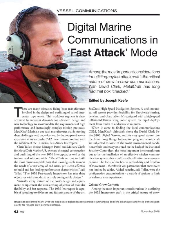 Marine News Magazine, page 62,  Nov 2018