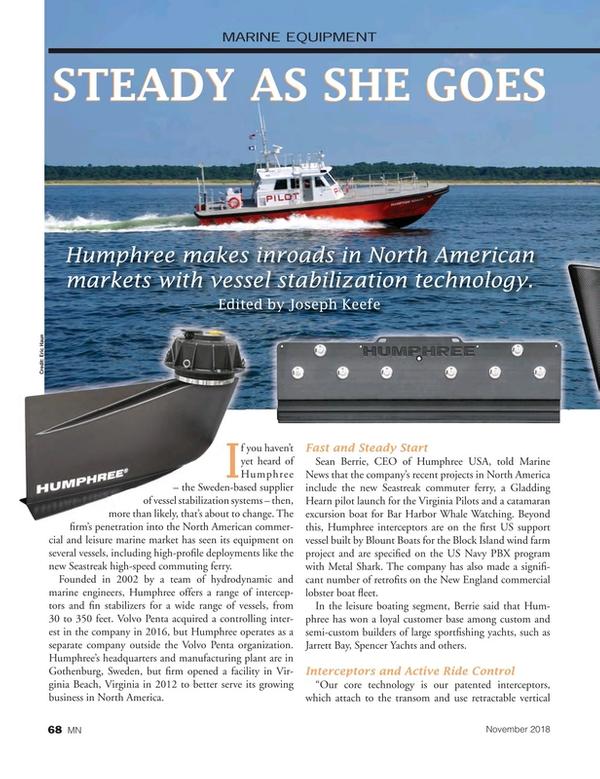 Marine News Magazine, page 68,  Nov 2018