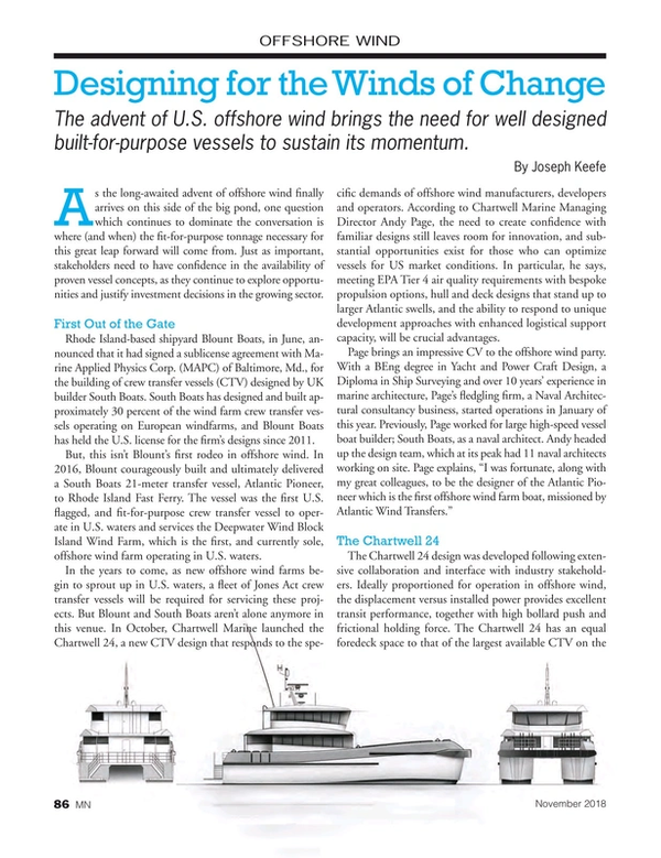 Marine News Magazine, page 86,  Nov 2018