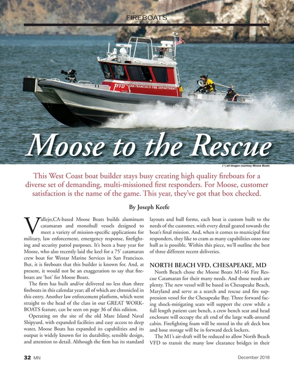 Marine News Magazine, page 32,  Dec 2018