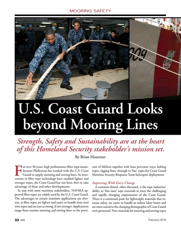 Marine News Magazine, page 32,  Feb 2019