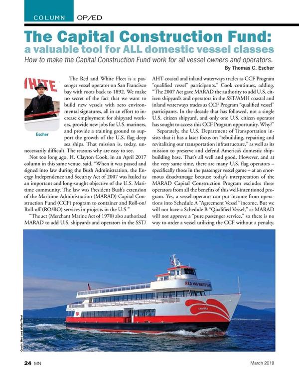 Marine News Magazine, page 24,  Mar 2019