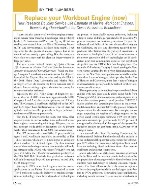 Marine News Magazine, page 10,  Apr 2019