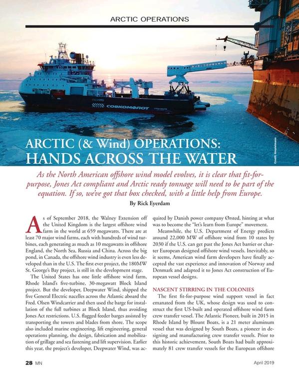 Marine News Magazine, page 28,  Apr 2019