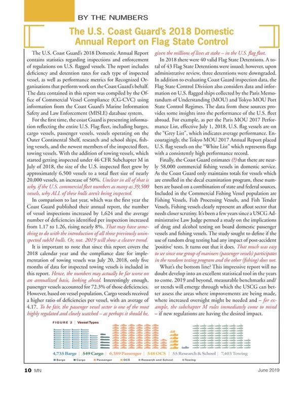 Marine News Magazine, page 10,  Jun 2019