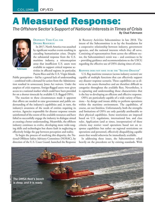 Marine News Magazine, page 26,  Jul 2019