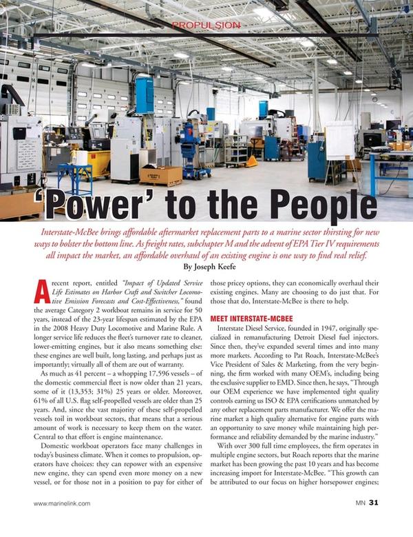 Marine News Magazine, page 31,  Jul 2019