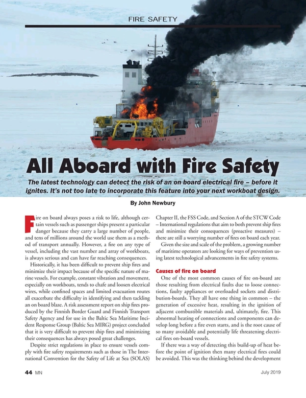 Marine News Magazine, page 44,  Jul 2019