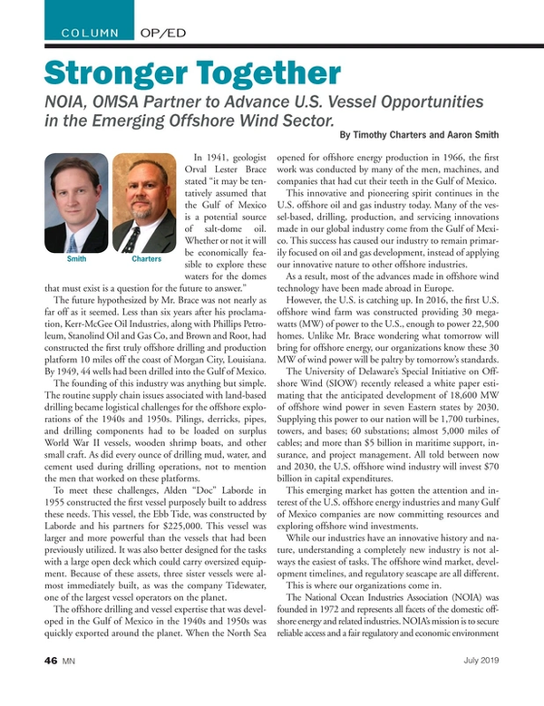 Marine News Magazine, page 46,  Jul 2019