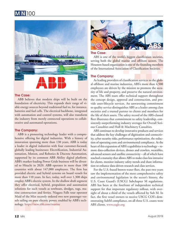 Marine News Magazine, page 12,  Aug 2019