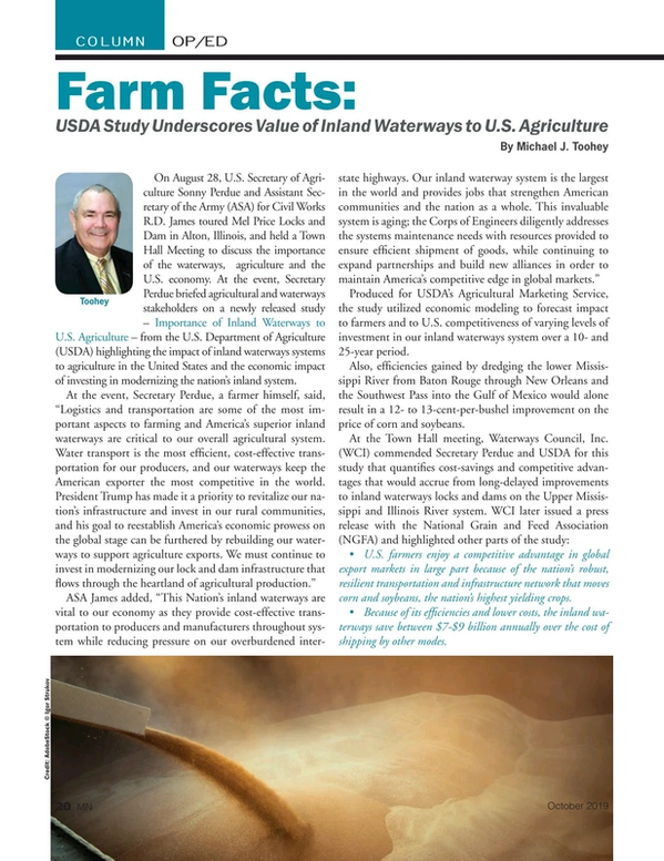 Marine News Magazine, page 20,  Oct 2019