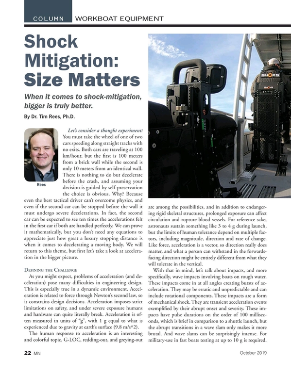 Marine News Magazine, page 22,  Oct 2019