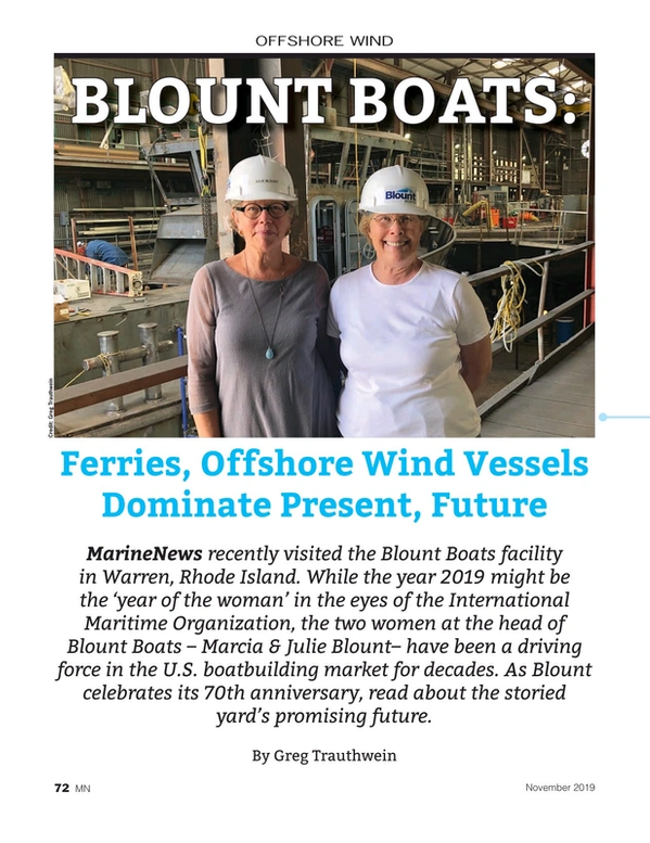 Marine News Magazine, page 72,  Nov 2019