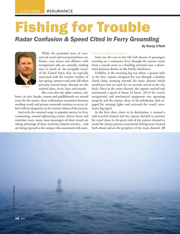 Marine News Magazine, page 16,  Jan 2020