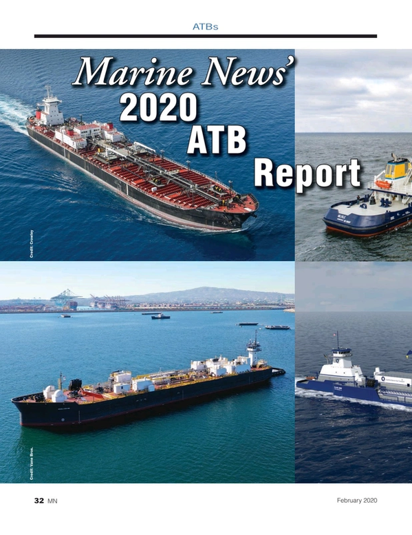 Marine News Magazine, page 32,  Feb 2020