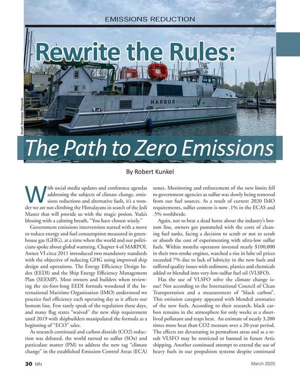 Marine News Magazine, page 30,  Mar 2020