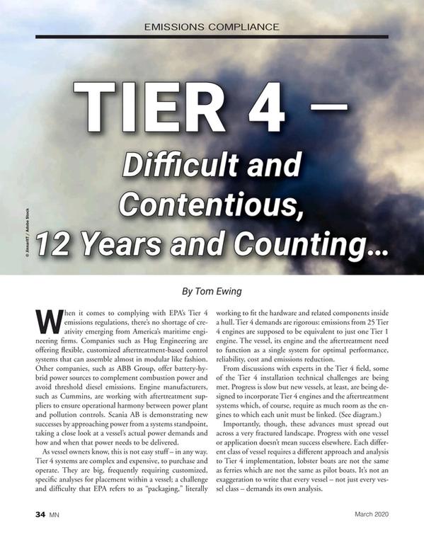 Marine News Magazine, page 34,  Mar 2020