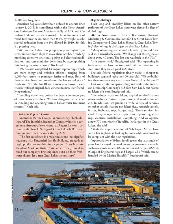 Marine News Magazine, page 42,  Mar 2020