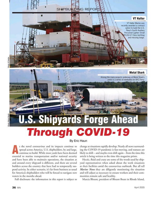 Marine News Magazine, page 36,  Apr 2020