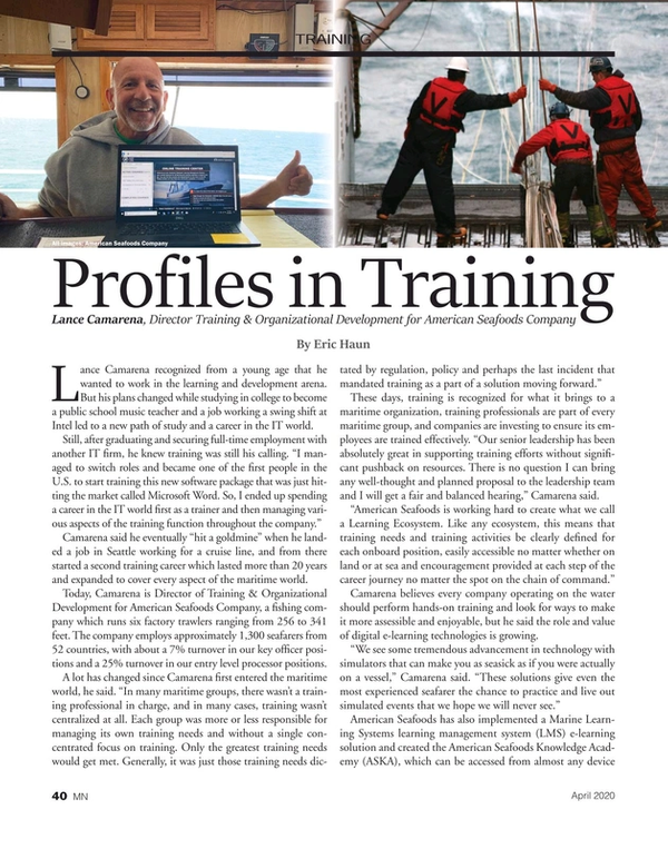 Marine News Magazine, page 40,  Apr 2020