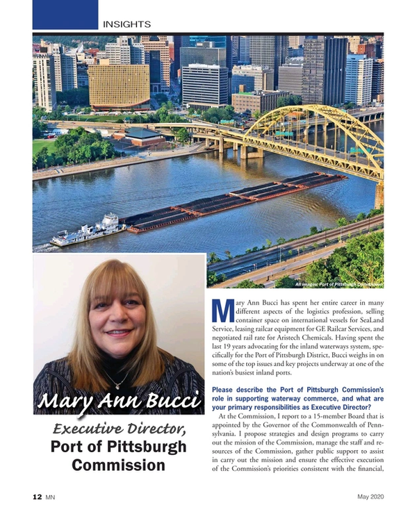 Marine News Magazine, page 12,  May 2020