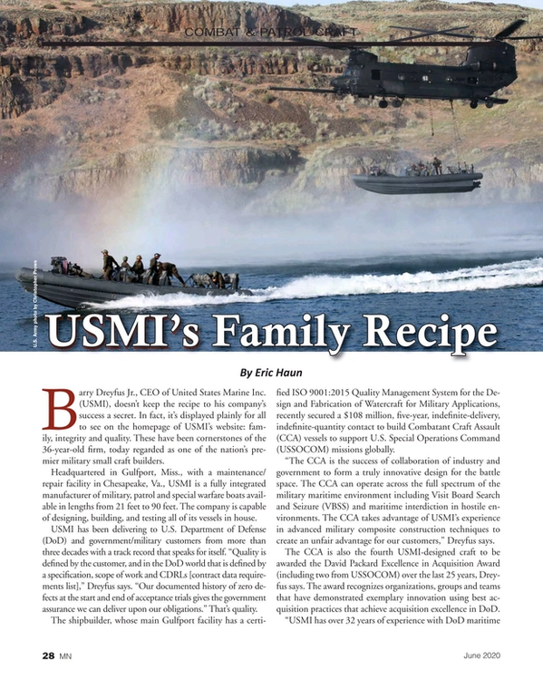 Marine News Magazine, page 28,  Jun 2020