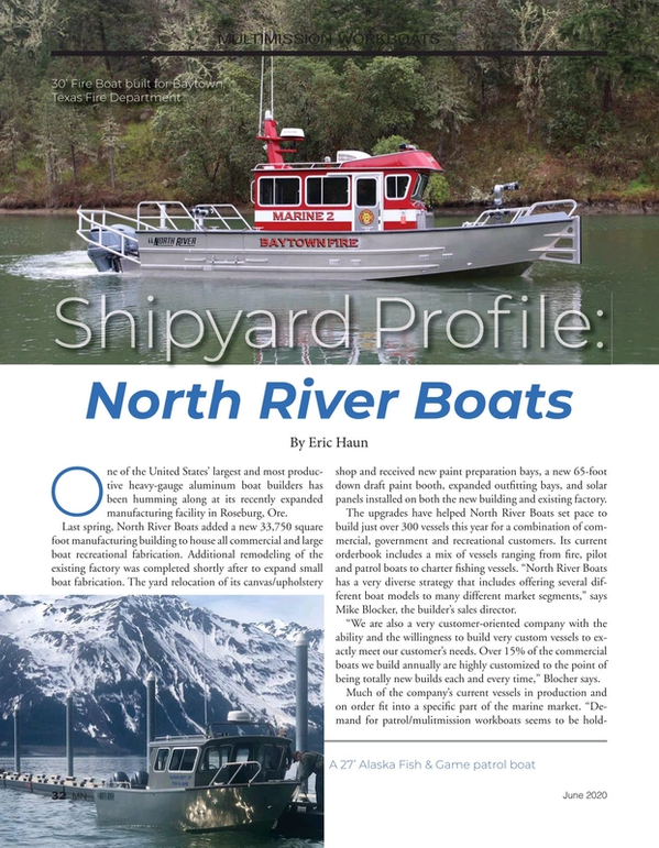 Marine News Magazine, page 32,  Jun 2020
