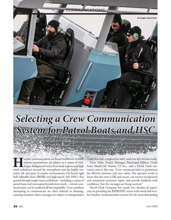 Marine News Magazine, page 34,  Jun 2020