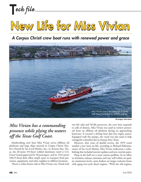 Marine News Magazine, page 46,  Jul 2020